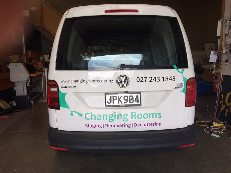 Vehicle signs advertising kapiti porirua wellington for Room design kapiti